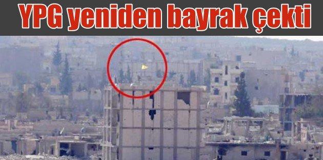Kobanide son durum, YPG bayrak çekti