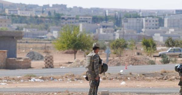 Kobani'de Ypg- IŞİD...