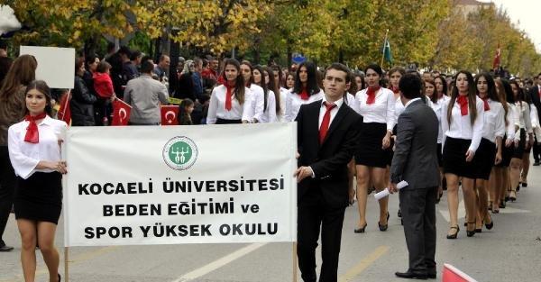 Kocaeli'de Cumhuriyet Bayramı Coşkusu