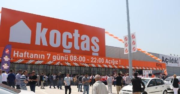 Koçtaş'ın 44'üncü mağazası Samsun'da açıldı