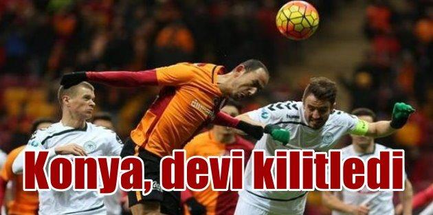 Konya Torku, Galatasarayı sahasında kilitledi