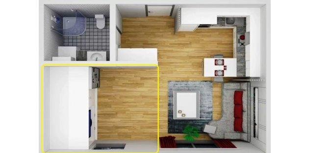Küçük evleri döşemenin püf noktaları