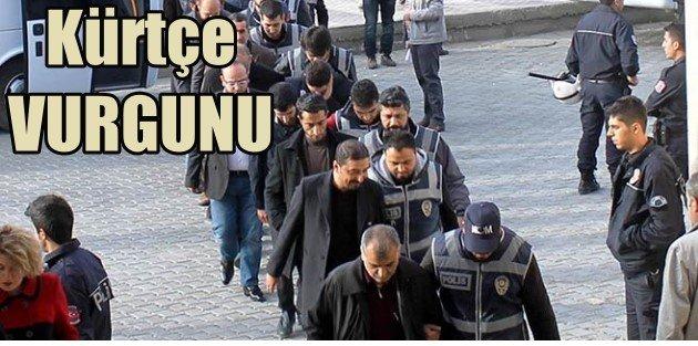 Kürtçe eğitimi makbuzla vurmuşlar