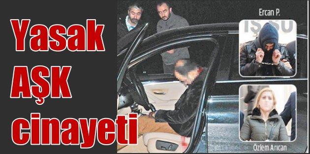 Lüks araç içindeki cinayetten yasak aşk çıktı