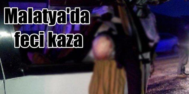 Malatya Doğanşehir'de feci kaza, 3 ölü 6 yaralı var