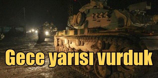 Mehmetçik IŞİDli katilleri bu kez karadan vurdu