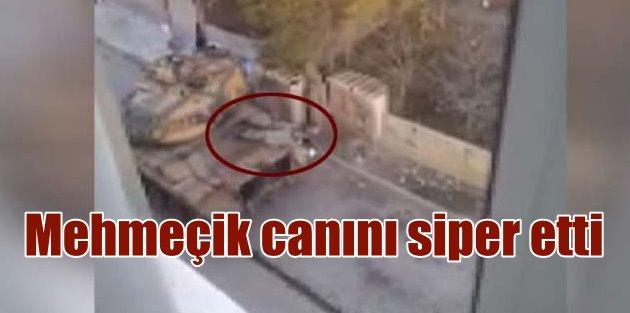 Mehmetçik, yaralı polisi bedenini siper ederek kurtardı