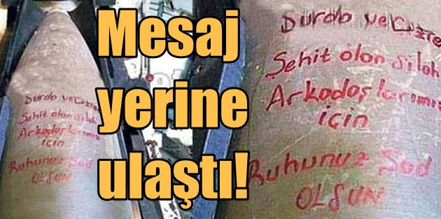 Mehmetçik'ten YPG'li teröristlere mermili mesaj