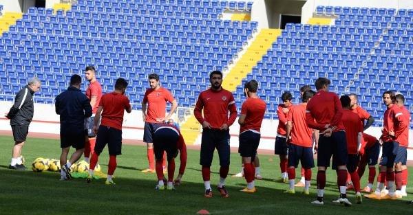 Mersin İdmanyurdu Trabzonspor maçına hazırlanıyor