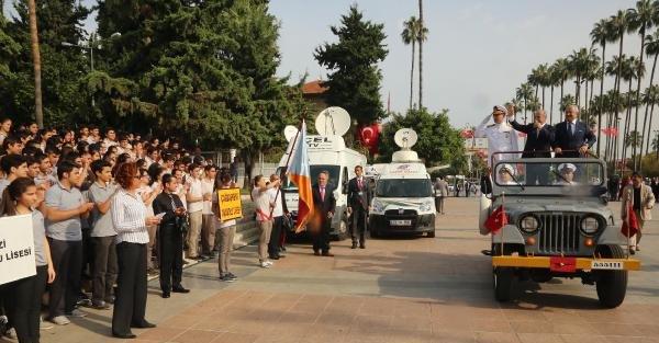 Mersin'de Cumhuriyet Bayramı Törenle Kutlandı