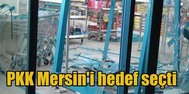 Mersin'de eş zamanlı üç ayrı bombalı saldırı