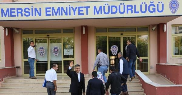 Mersin'de Gözaltındaki 26 Polisten 9'u Serbest Bırakıldı (2)
