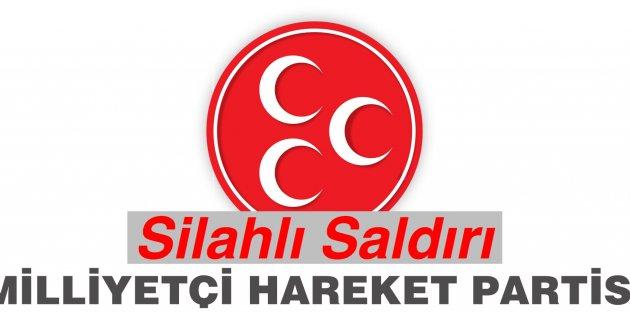 MHP Binasına Silahlı Saldırı