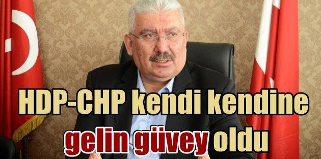 MHP: Kendi kendine gelin güvey oldular