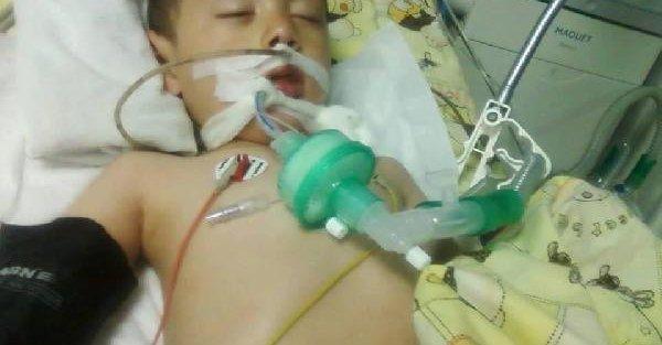 Minik Mustafa 16 gündür sürdürdüğü yaşam savaşını kaybetti