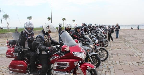 Motosikletliler Organ Başığı İçin Tur Attı