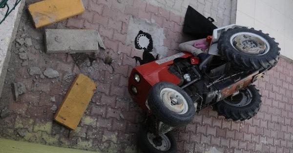 Nevşehir'de 1 kişi traktör altında can verdi