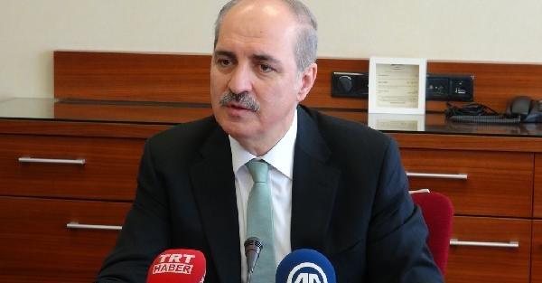 """Numan Kurtulmuş, Avrupalı Türklere seslendi """"Eksiklikleri giderdik, sandığa gidin"""""""