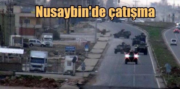 Nusaybin'de polis konvoyuna saldırı, 1 çocuk can verdi