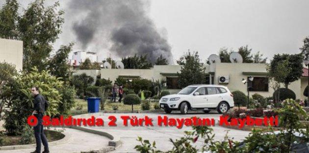 O Saldırıda 2 Türk