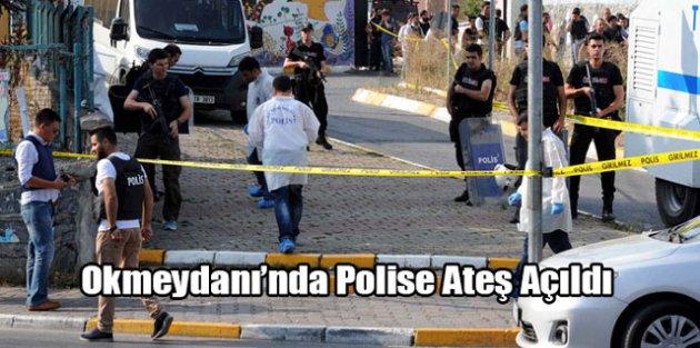 Okmeydanında Polise Ateş Açıldı