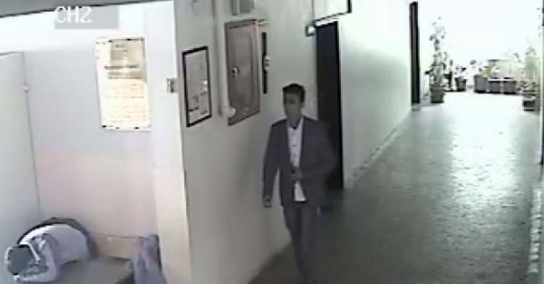Okullarda Hırsızlık Yaparken Güvenlik Kameraları Kaydetti