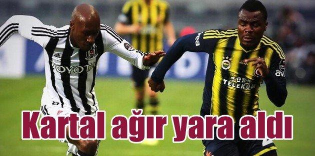 Olimpiyat'ta fener alayı, Beşiktaş: 0 - Fenerbahçe: 2