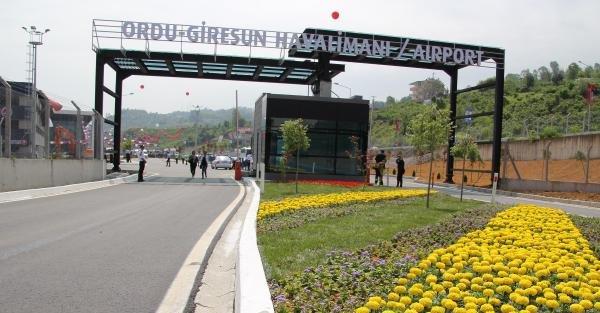 Ordu-Giresun Havalimanı'na...