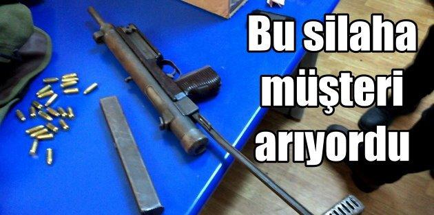 Otomatik silah satmak için İstanbul'a gelmiş