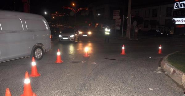 Otomobilin çarptığı polis şehit oldu (2)