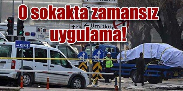 Patlamanın olduğu sokakta o yasak neden kalktı?