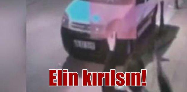 Pendik'te Türk bayrağına çirkin saldırı