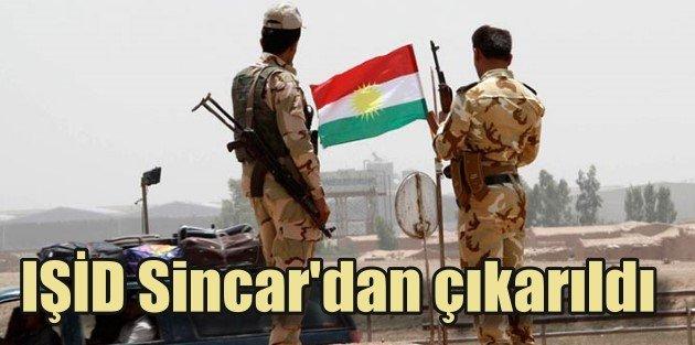 Peşmergeden IŞİDe karşı önemli zafer, Sincar geri alındı