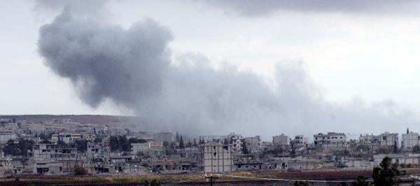 Kobani'de son durum; Yağmur yağınca çatışma durdu
