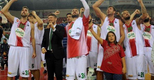 Pınar Karsıyaka - Stelmet Zıelona Basketbol Maçı Ek Fotoğrafları