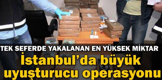 Piyasa Değeri 35 Milyon TL Olan Kokain Ele Geçirildi