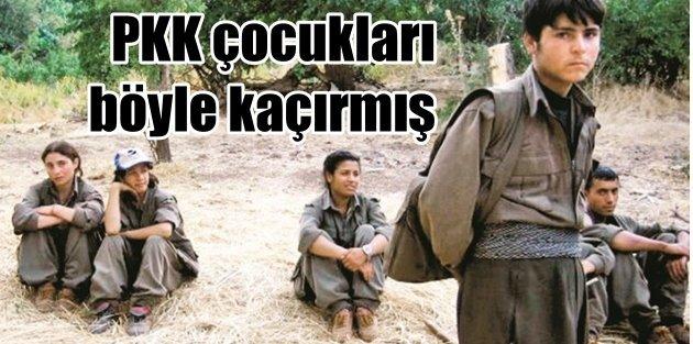 PKK 6 ayda 4 bin çocuk kaçırmış