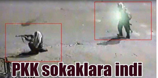 PKK Cizre'de sokaklara indi, polise saldırdı