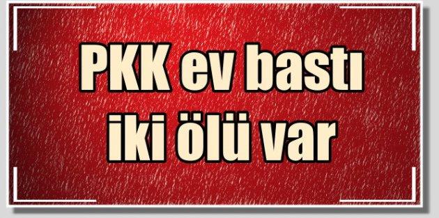 PKK, Dargeçit'te evleri taradı, 2 ölü var