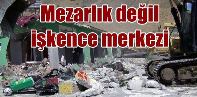 PKK mezarlığı için şok iddia; Mezarlık filan yok, örgüt merkezi