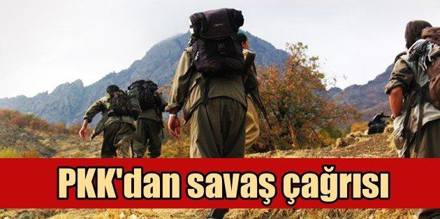 PKKdan savaş çağrısı: Çözüm sürecini bitirecekler...