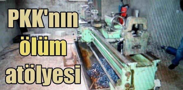 PKKlı katiller bomba üretmek için atölye kurmuş