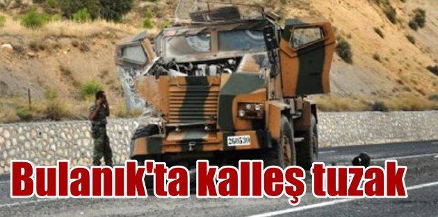 PKKlı katiller Bulanıkı kana bulayacaktı: 8 yaralı var