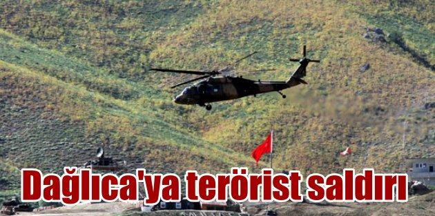 PKKlı teröristler Dağlıcada ağır silahlarla saldırdı