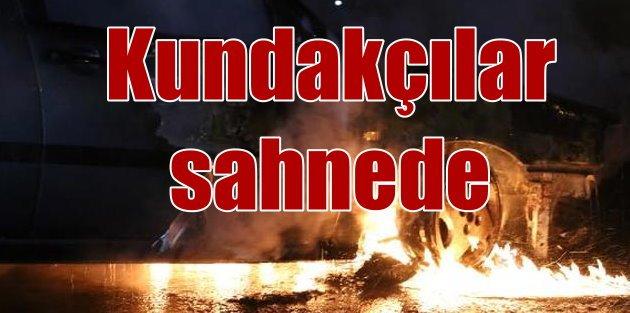 PKK'lılar bir gecede 48 aracı kundakladı
