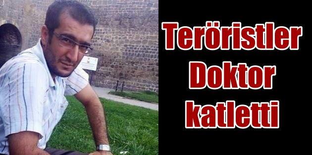 PKKlılar Diyarbakırda yol kesti, doktor katletti