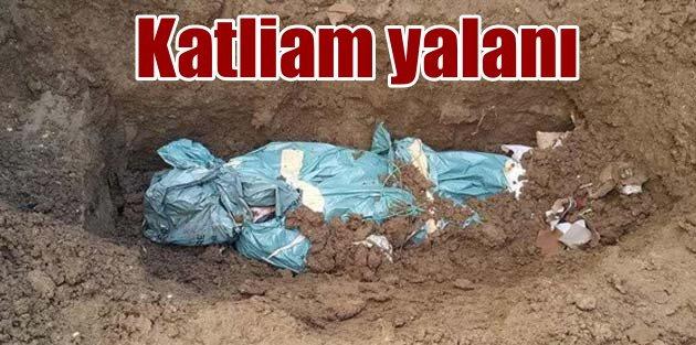PKKnın yalanı kendi kazdığı mezarlarla ortaya çıkı