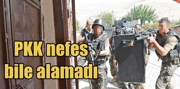 PKKya nefes alacak fırsat yok: Devletin yumruğu Balyoz gibi