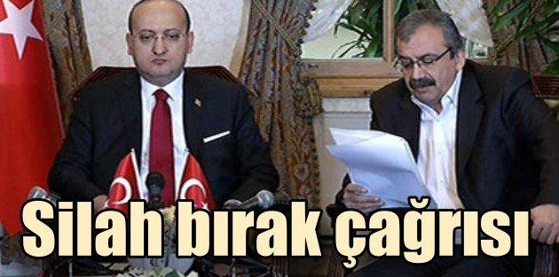 PKKya resmen silah bırakma çağrısı