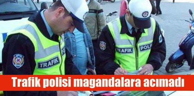 Polis sadece 7 ayda 60 bin ehliyete el koydu